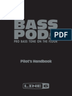 Bass PODxt Live User Manual - English ( Rev B )