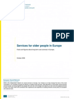 Services for older people in Europe