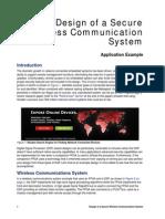 Design Sec Wireless Comm Sys