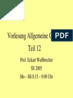 Allgemeine Geologie 12