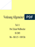 Allgemeine Geologie 11