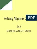 Allgemeine Geologie 9