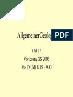 Allgemeine Geologie 15
