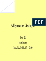 Allgemeine Geologie 20