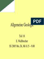 Allgemeine Geologie 18
