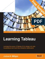 Learning Tableau - Sample Chapter