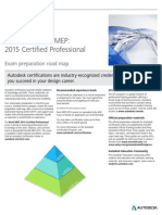 Autodesk Revit MEP 2015 Certification Roadmap