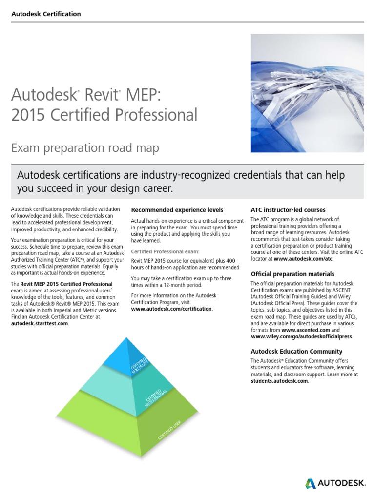 Autodesk revit mep 2015 certification roadmap autodesk revit autodesk revit mep 2015 certification roadmap autodesk revit professional certification 1betcityfo Choice Image
