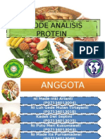 Metode Analisis Protein-ppt
