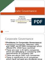 Corporate Govenrance Anil Gor
