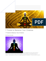 7 Foods to Balance Your Chakras