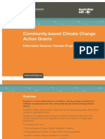 Climate Change Action Grants Info Session