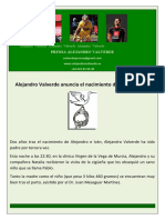 Nota de Prensa Alejandro Valverde (29!01!10)