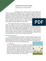 The Development & Principles of Editing 2