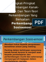 EDU 3102 Perkembangan Sosio Emosi
