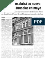 150417 La Verdad CG- El Gobierno de Gibraltar Abrirá Su Nueva Oficina en Bruselas en Mayo p. 10