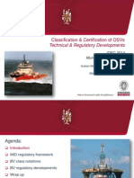 Classification & Certification of OSVs @ IDEC 2014 - May 2014