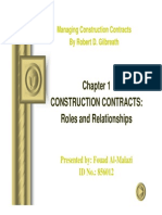 Construction Contract 1