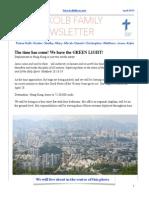 Kolb Family Newsletter April 2015 PDF