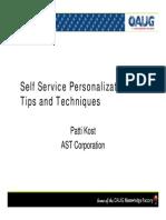 Self Service Person
