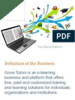 Azure Tutor Brand
