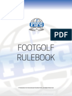 Fifg Official Footgolf Rule Book 2014