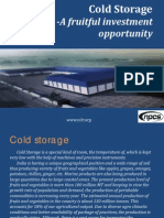 Cold Storage a Fruitful Investment Opportunity