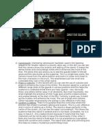Visual Essay - Shutter Island