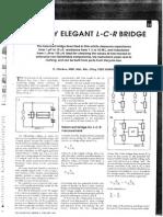 Simple Elegant LCR-Meter