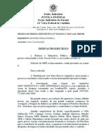 Ordem de Prisao de JOÃO VACCARI (BANCOOP)