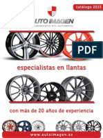 Catalogo AUTO IMAGEN 2015