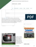 Adaptar Magnetron a Horno Microondas_ Fallas Electronicas