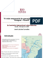 Rio Tinto Hidrovia Paraguai