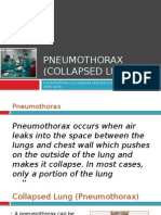 Pneumothorax (Collapsed Lung) - Symptoms, Causes and Treatment in Delhi, India - Dr. (Prof.) Arvind Kumar