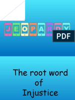Jeopardy Root Words
