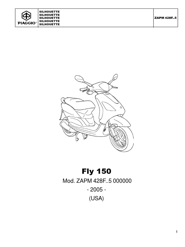 Scooter FLY 150 Parts