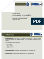 Les Européens Et La Traçabilité