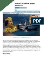 NATO Bombardement Beweise Gegen Gaddafi Waren Gefälscht