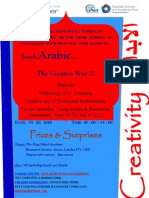 Arabic Teaching Seminar