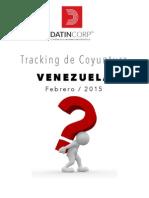 Informe Tracking de Coyuntura Venezuela Febrero 2015 PDF-1