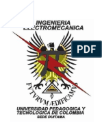 Escudo Ingenieria Electromecanica UPTC