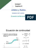 Calor y Electricidad Ecuación de Bernoulli