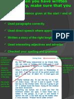 Tips writting Inglés