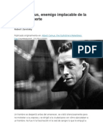 Albert Camus y Pena de Muerte
