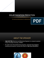 Solar Radiation Prediction Presentation