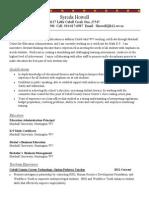 syreda howell resume-1