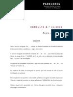 Parecer CDR Lisboa nº 31-2008
