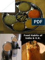Food Habits of India U-k