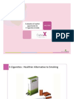 Evaluation of Market Opportunity for E-Cigarettes in India