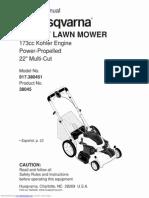Husqvarna 917380451 Owners Manual